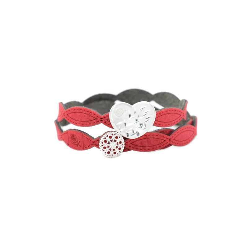Per S. Valentino regala l'esclusivo bracciale I LoveYou!Scegli il tuo colore preferito! Krilà 100% made in Italy