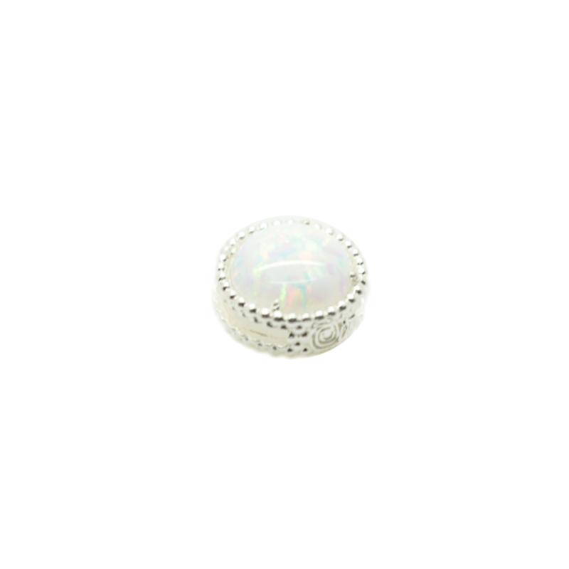 Aggiungi al tuo braccialetto Krilà l'esclusivo Beads Opale!Realizzato in Argento925%.Produzione 100% made in Italy